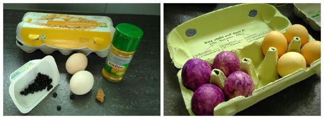 🐣 Ostereier färben mit natürlichen Farbstoffen🐣