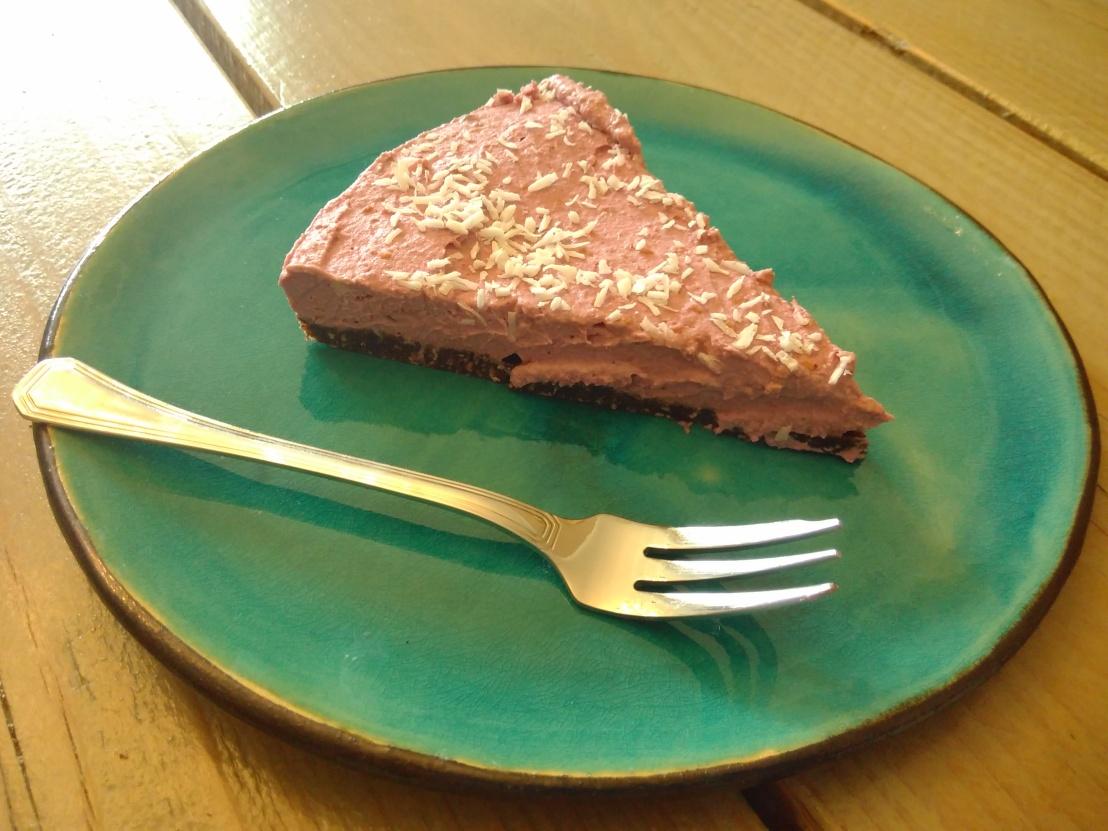 * Himbeer Cheese Cake – rohvegan*