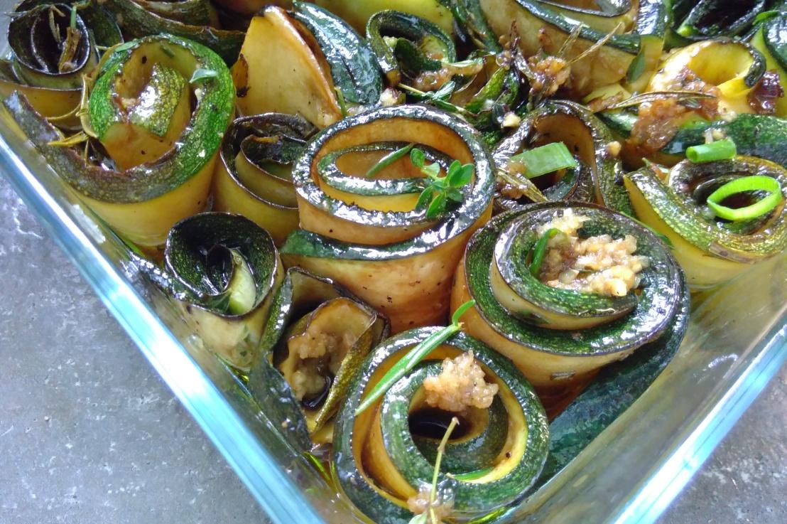 ++ Marinierte Zucchini++