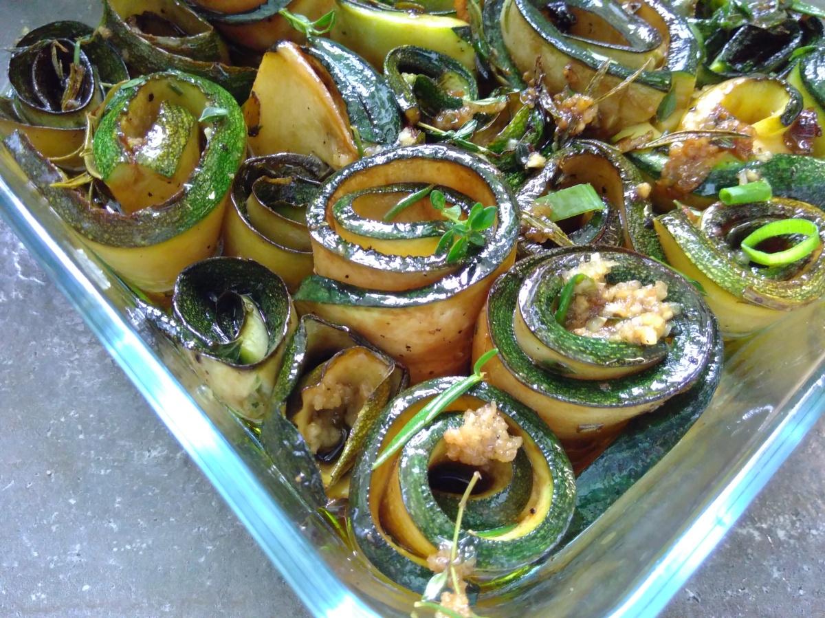 ++ Marinierte Zucchini ++