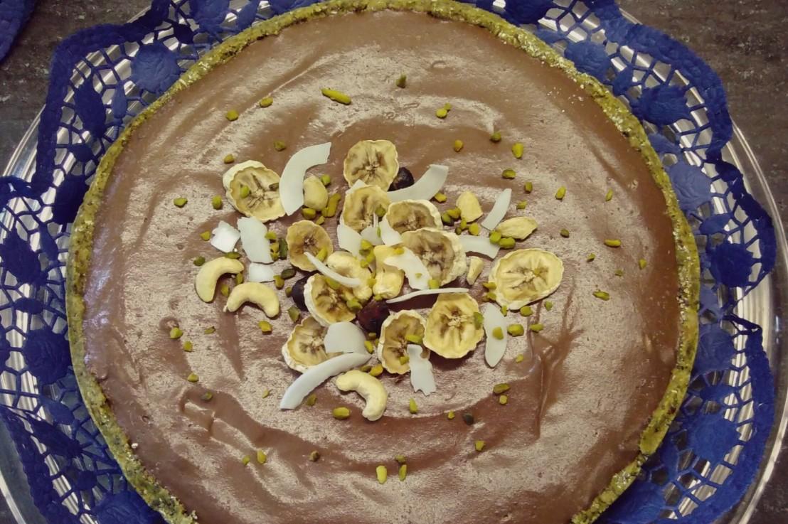 Kokos Bananen Torte(rohvegan)