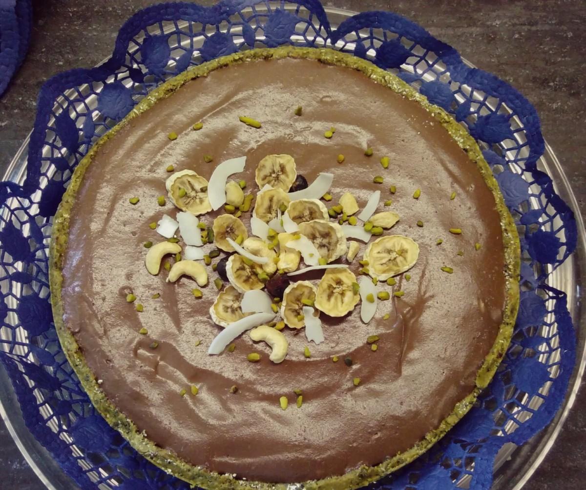 Kokos Bananen Torte (rohvegan)