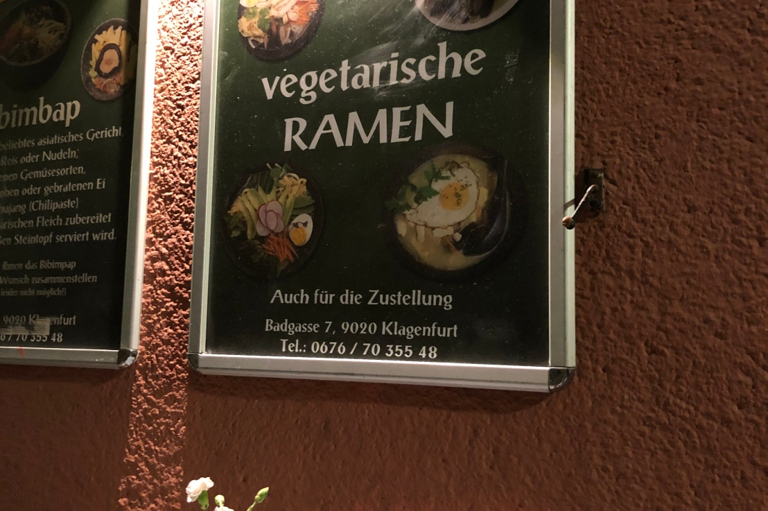 Vegetarischer Asiat in Klagenfurt – SU