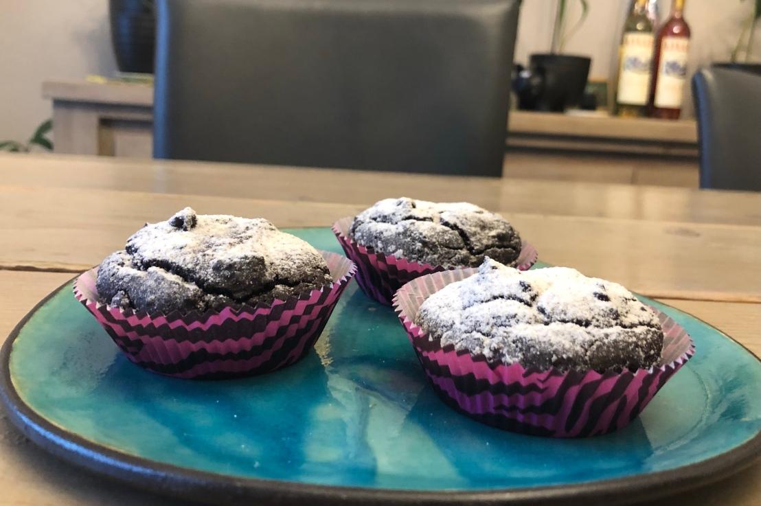 Schoko Muffins mit ganz besonderen Zutaten  (gf)das