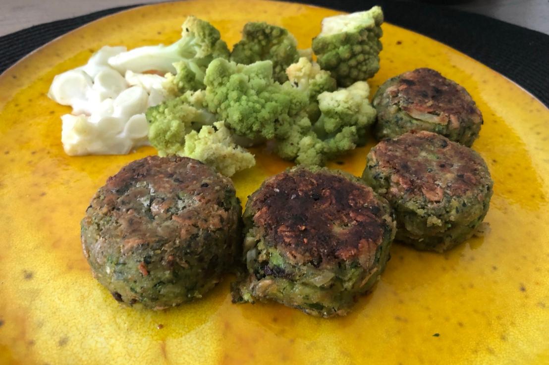 Zucchini Laibchen / Bratlinge(gf)